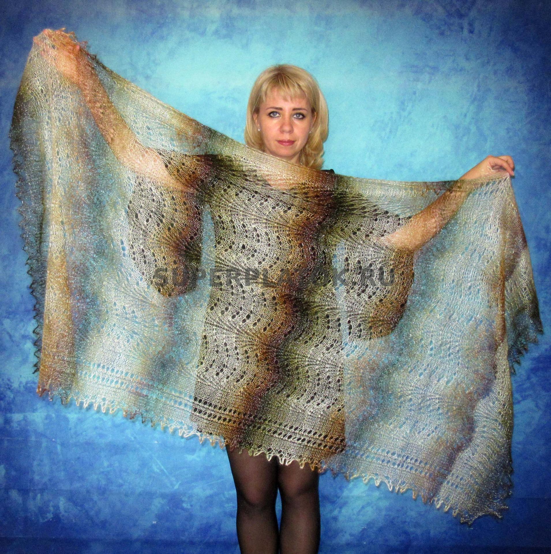 Вязание из козьего пуха спицами фото 29